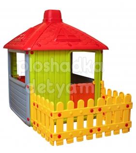 Игровой домик Dolu Городской дом DL_3011 серый