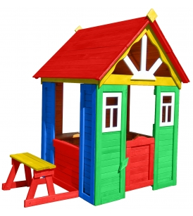 Цветной домик солнечный мульти 1 Р910-М2 Можга Красная Звезда...