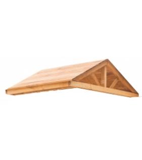 Крыша деревянная для спортивного городка