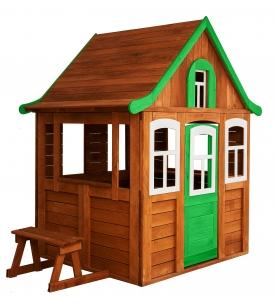 Детский домик Цветочный зеленый Можга Красная Звезда...