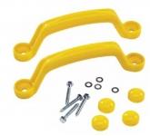 Пластиковые ручки желтые