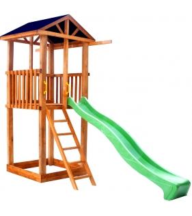 Комплекс Tower с горкой крыша тент