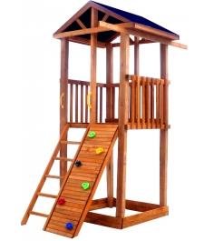 Комплекс Tower с узким скалодромом крыша тент