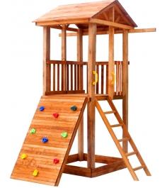 Комплекс Tower с широким скалодромом крыша дерево...