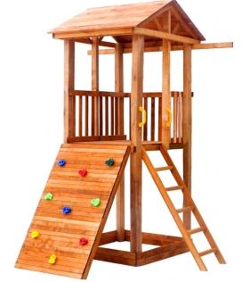 Комплекс Tower с широким скалодромом крыша дерево