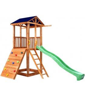 Комплекс Tower широкий скалодром с горкой крыша тент