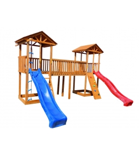 Детская площадка 6 с узким скалодромом