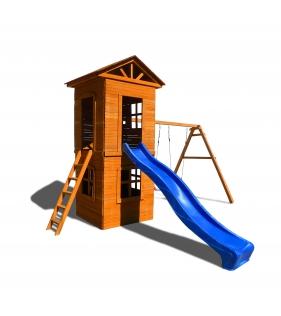 Детская площадка 8 c узкой лестницей