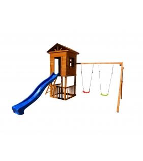 Детская площадка Спортивный городок Избушка