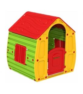 Магический домик StarPlast желтый зеленый