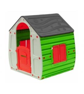 Магический домик StarPlast серый зеленый