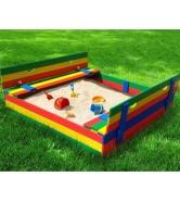 Детская цветная песочница Славушка