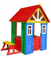 Цветной домик солнечный мульти 1 Р910-М1