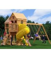 Детский игровой комплекс Р955 Панорама с трубой и горкой...
